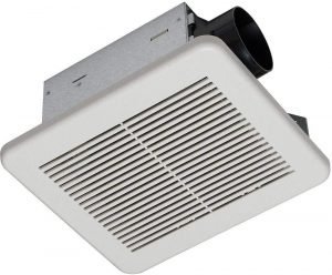 Hampton Bay 80 CFM No Cut Ceiling Humidity Sensing Bath Fan