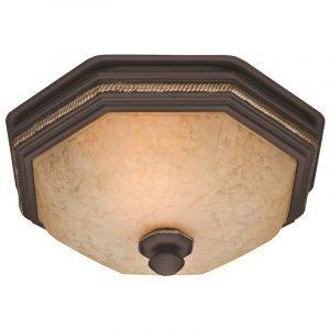 Hunter 82023 Belle Meade 80 CFM Bathroom Fan with Light