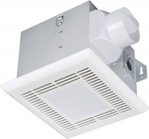 Tech Drive Very-Quiet 70 CFM, 2.0 Sone Bathroom Ventilation and Exhaust Fan